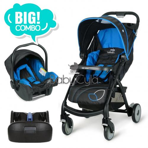 Muze + Infant Car Seat + Base Latch